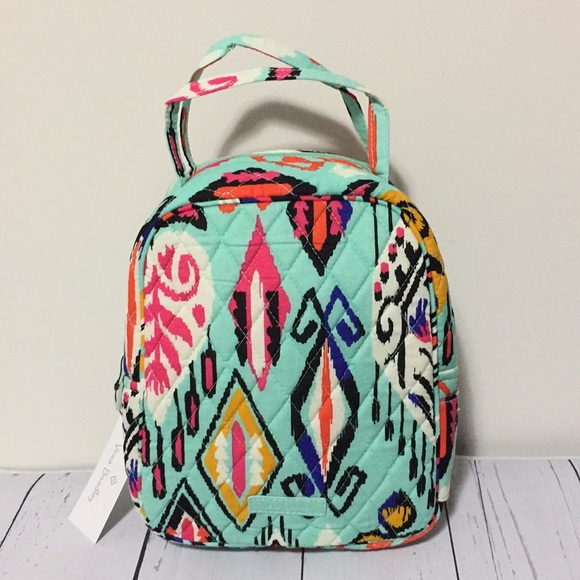 b88d2d867d17 LAST 1 🌸 Vera Bradley Lunch Bag Lunch Bunch tote